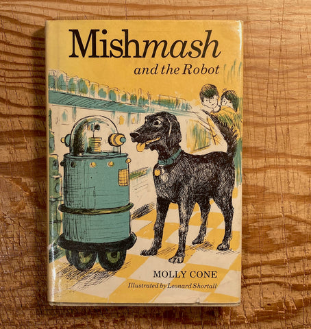 mishmash and the robot, 1981, used