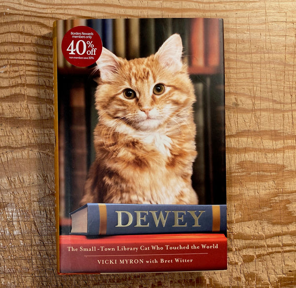 dewey - the small-town library cat who touched the world, new