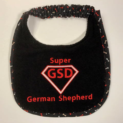 Super German Shepherd, Drool Bib