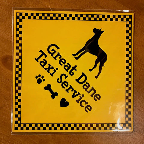 Great Dane Taxi Service - Magnet