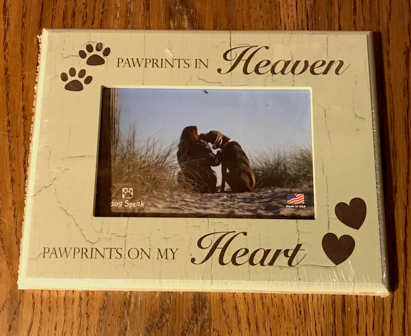 Pawprints in Heaven, Picture Frame