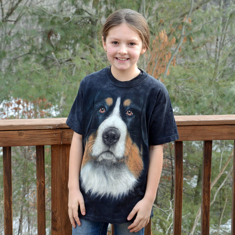 Bernese Big Face T-shirt in Youth sizes