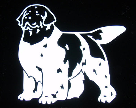 Landseer Decal For Tinted Glass