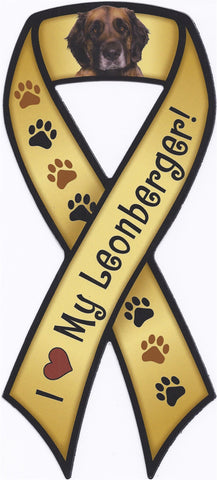 Leonberger Ribbon - Magnet