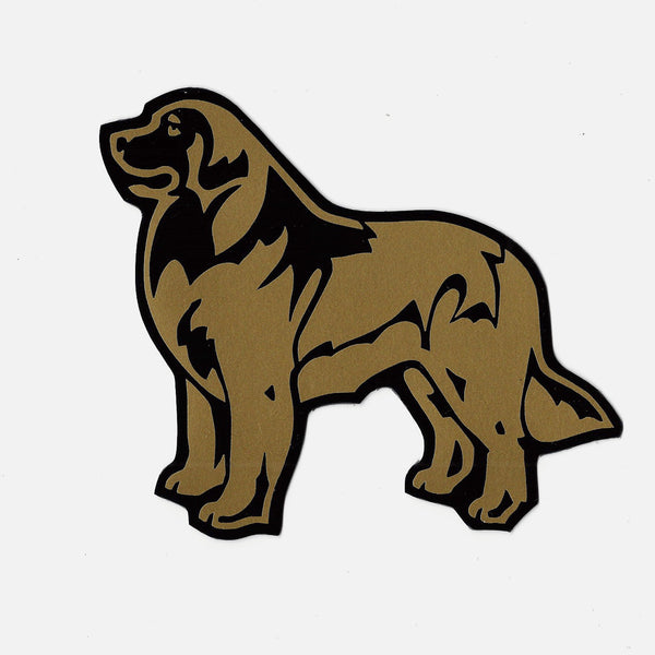 """Leonberger Decal for Tinted Glass"""