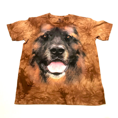 Leonberger Big Face T-shirt - Acorn