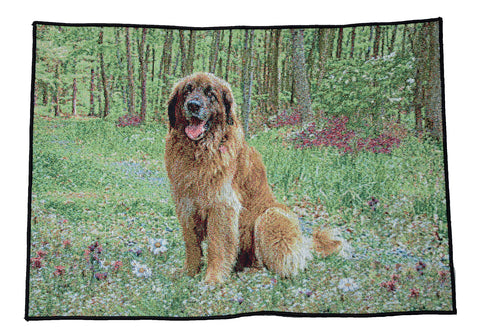 """Leo in grass - Woven Placemat"""