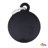 Big Black Circle Tag