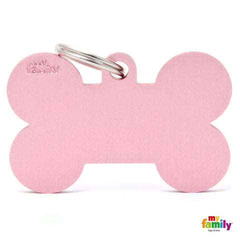 Pink XL Bone Tag