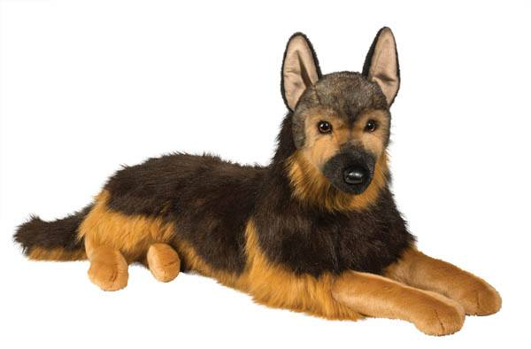Major German Shepherd Plush Toy - GIANT