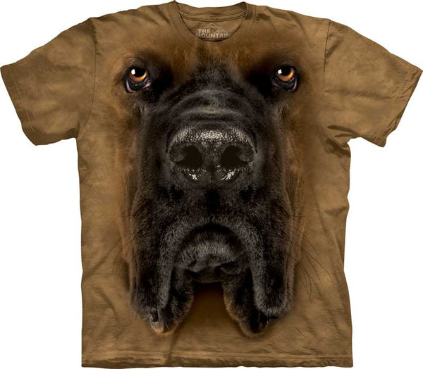 """Mastiff Big Face T-shirt - Size Small Only"""
