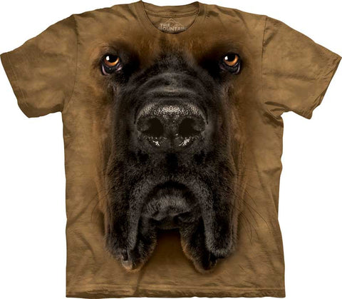 """Mastiff Big Face T-shirt - Discontinued"""