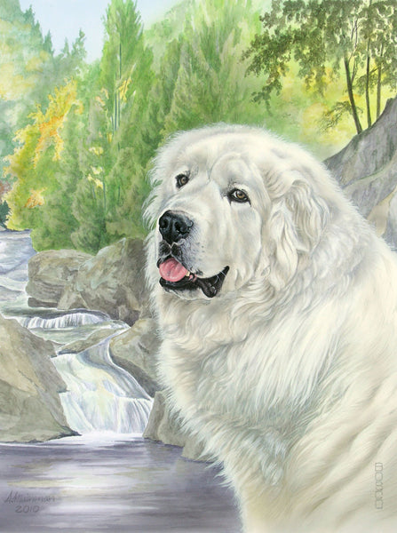 Great Pyrenees - 672 piece puzzle