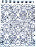 Puppies! Adult Coloring Book