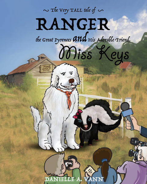 """Great Pyrenees children's book - Ranger and Keys"""