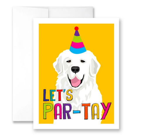 let's par-tay - single card
