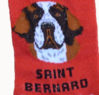 """Foozys Saint Socks"" - one size fits most"