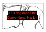 """Help Em' Up Harness"" - Large 70 to 110 pounds"