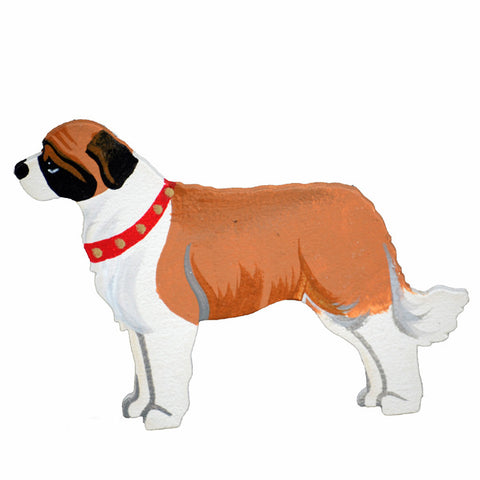 Hand Crafted Saint Bernard Ornament