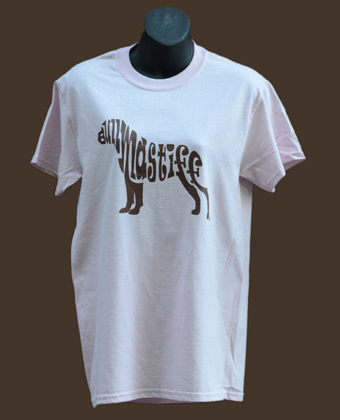 Bullmastiff T-Shirt - Light Pink