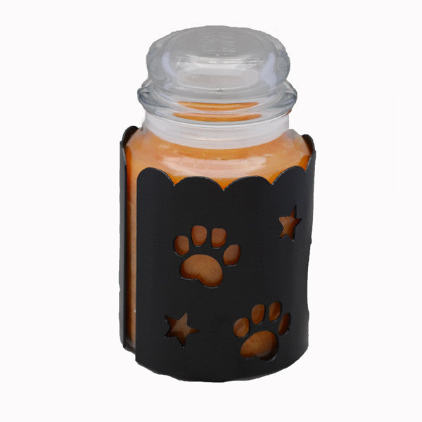 Great Pyrenees Jar Candle Wrap