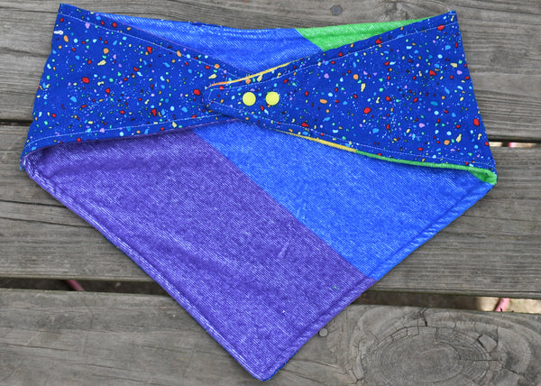 2 sided terry, adjustable quick snap bandana 2XL