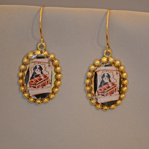Berner Treasures Oval Earrings