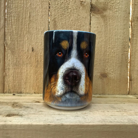 """Bernese Face Ceramic Mug"""