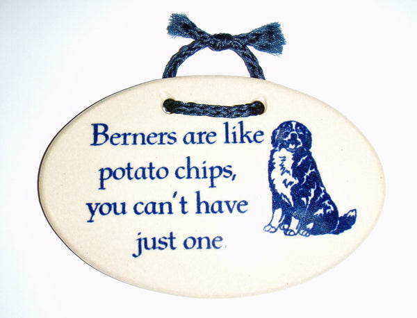 Berner Potato Chip Plaque