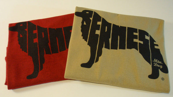 Bernese T-Shirt - red & tan