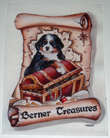 Berner Treasures - Garden Sized Flag