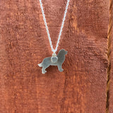 """Sterling Silver Bernese Pendant and 18"" Chain"""