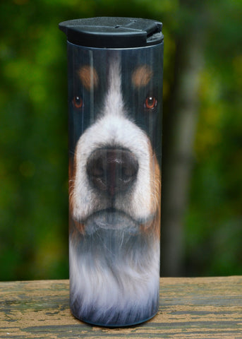 """Stainless Steel Bernese Travel Mug - 17 oz."""