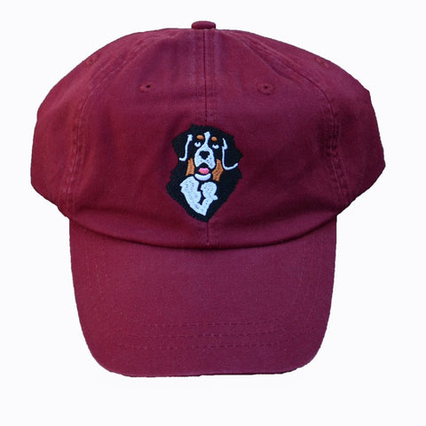 Cool-Crown Berner Cap - True Maroon