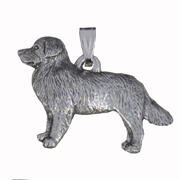 Antiqued Pewter Bernese Pendant