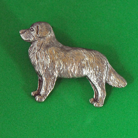 Antiqued Pewter Bernese Pin