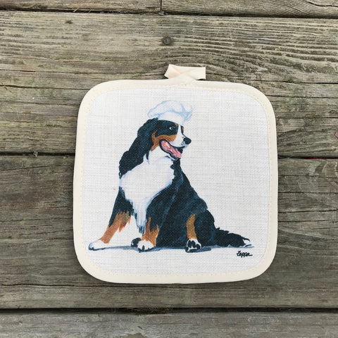 Bernese Mountain Dog Pot Holder