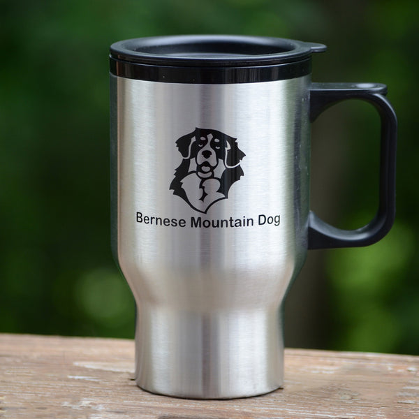 Stainless Steel Bernese Travel Mug