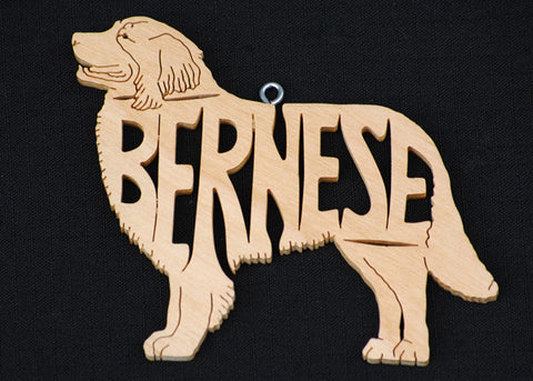 Bernese Wooden Puzzle Ornament