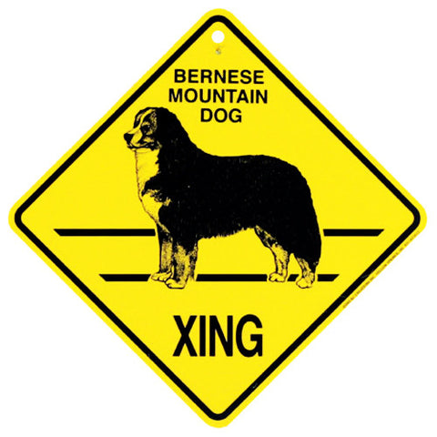 Bernese Crossing Sign
