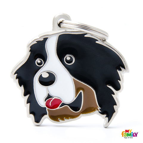 Bernese Mountain Dog Tag