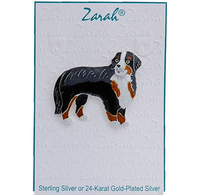 Sterling Silver Bernese Pin