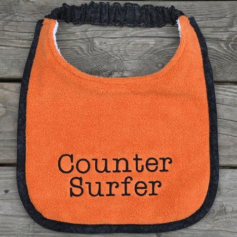 counter surfer, Drool Bib