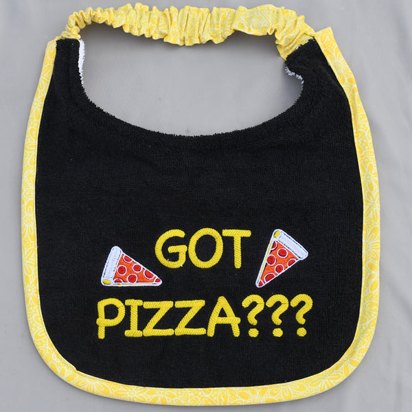 got pizza?, Drool Bib