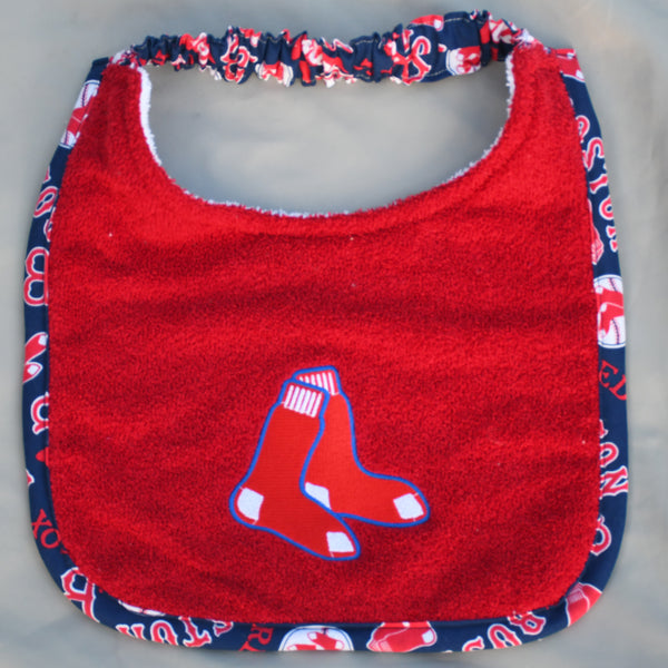 red sox, Drool Bib