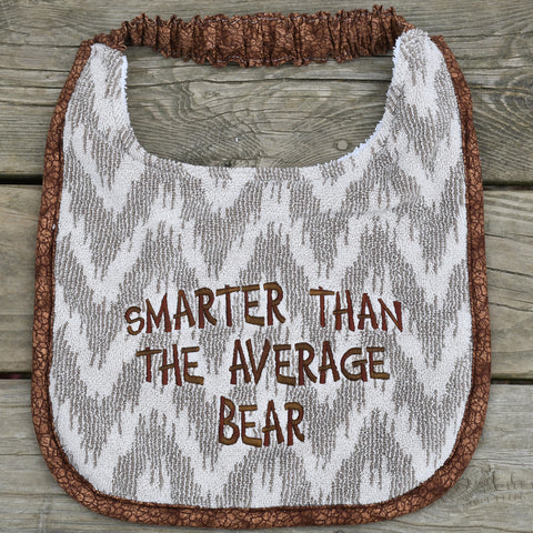 smarter than the average bear, Drool Bib