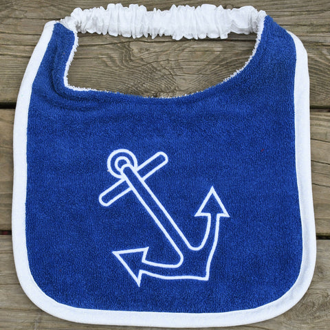 anchor, Drool Bib