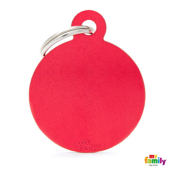 Big Red Circle Tag