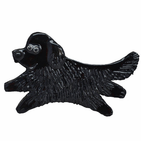 Ceramic Newfoundland Pin