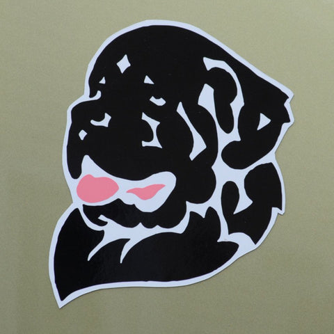 Full Color Newf Head Decal